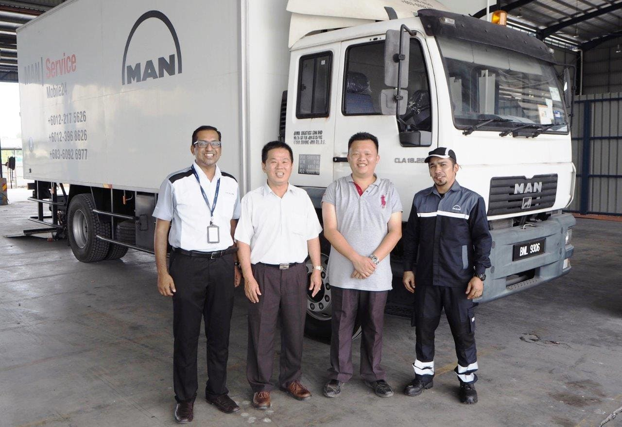 MAN Mobile Service Workshop Hits the Road