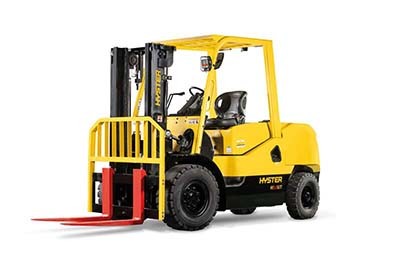 New Hyster UT Series 4-5t Forklifts Target Driver Comfort and Low Total Cost of Ownership