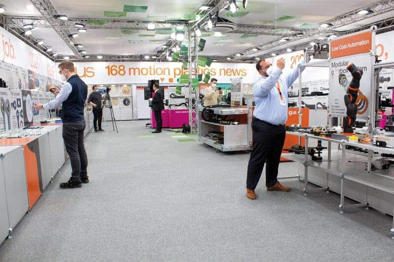 igus 2021 Motion Plastics Show: 168 Tribo Innovations on the Trade Show Stand