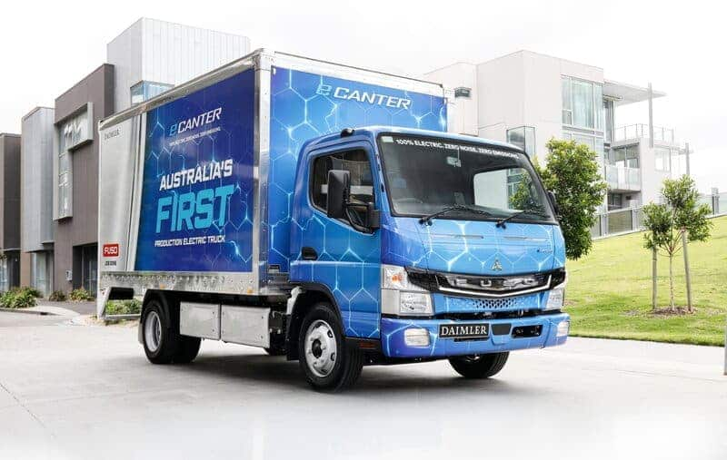 FUSO Celebrates 50 Years of the Canter in Australia