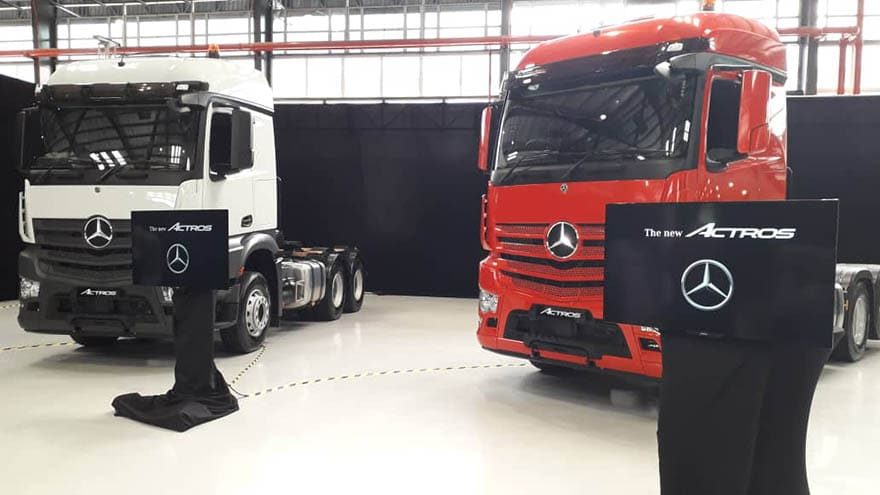 New Actros Launched in Malaysia